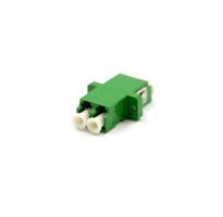 LC/APC Duplex adapter, Singlemode