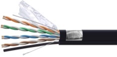 FTP CU/CCA with the cable CAT6